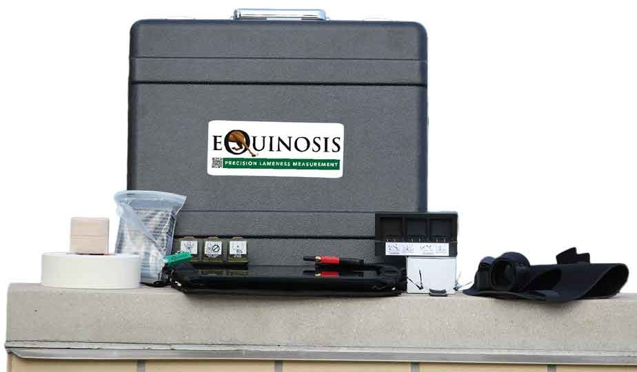 Equinosis Q with Lameness Locator System Components