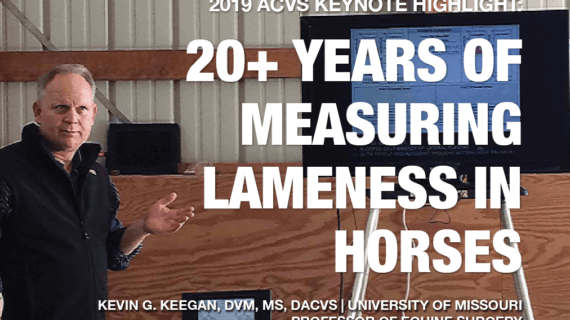 2019 ACVS KEYNOTE HIGHLIGHT KEVIN KEEGAN DVM