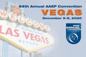 66th Annual AAEP Convention Vegas Dec 5-9, 2020