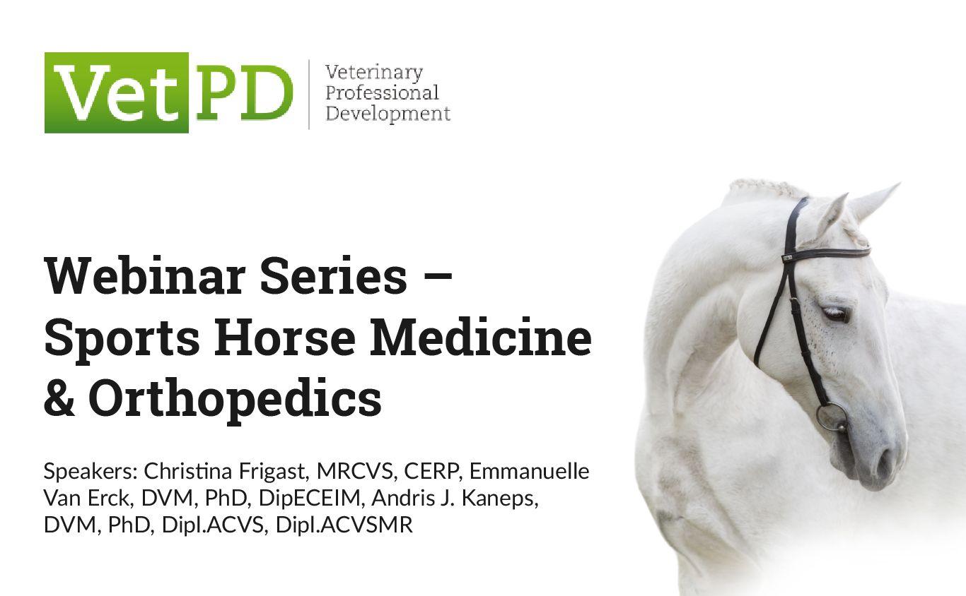Webinar Series – Sports Horse Medicine & Orthopedics